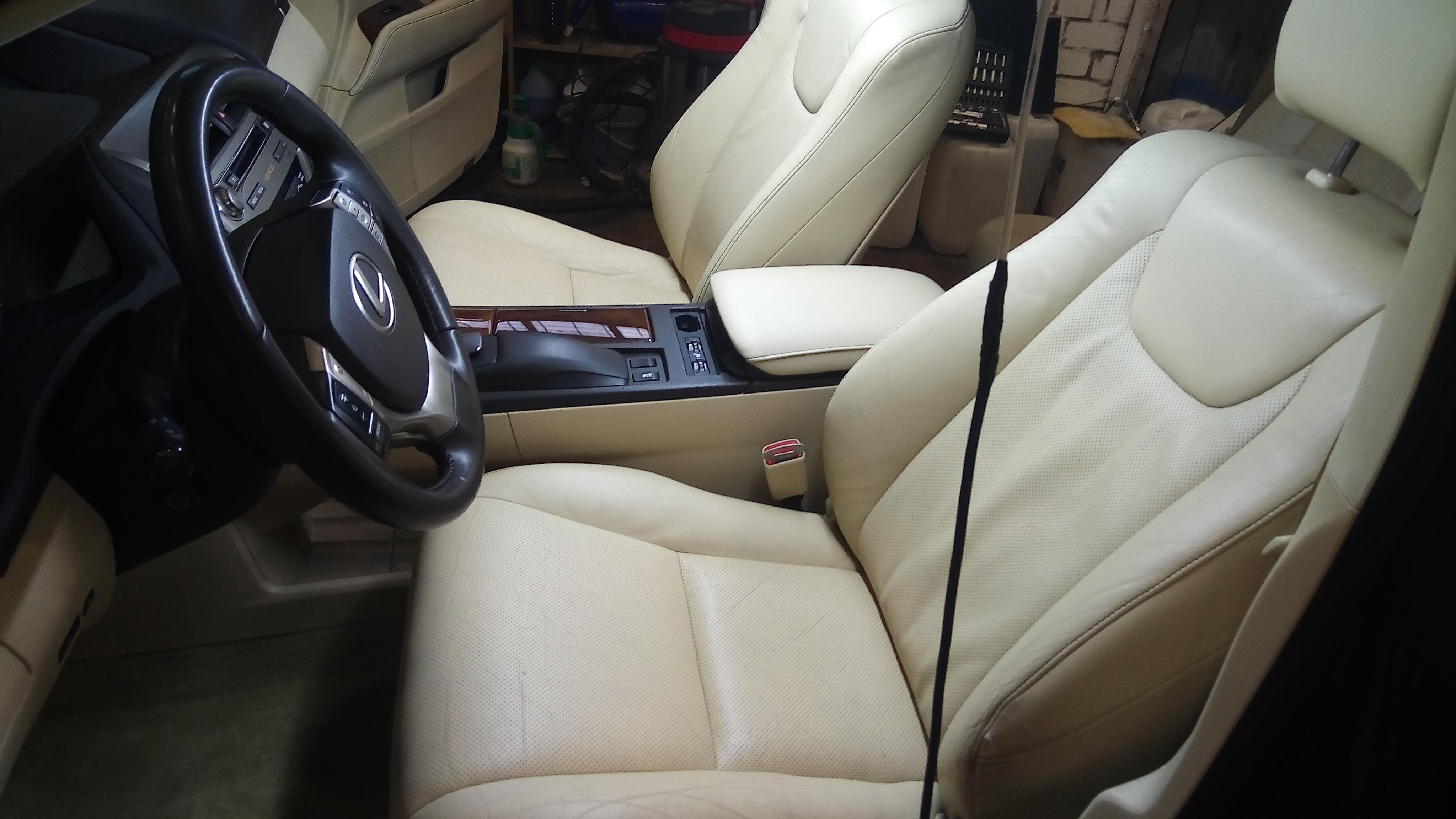 Детейлинг салона Lexus RX