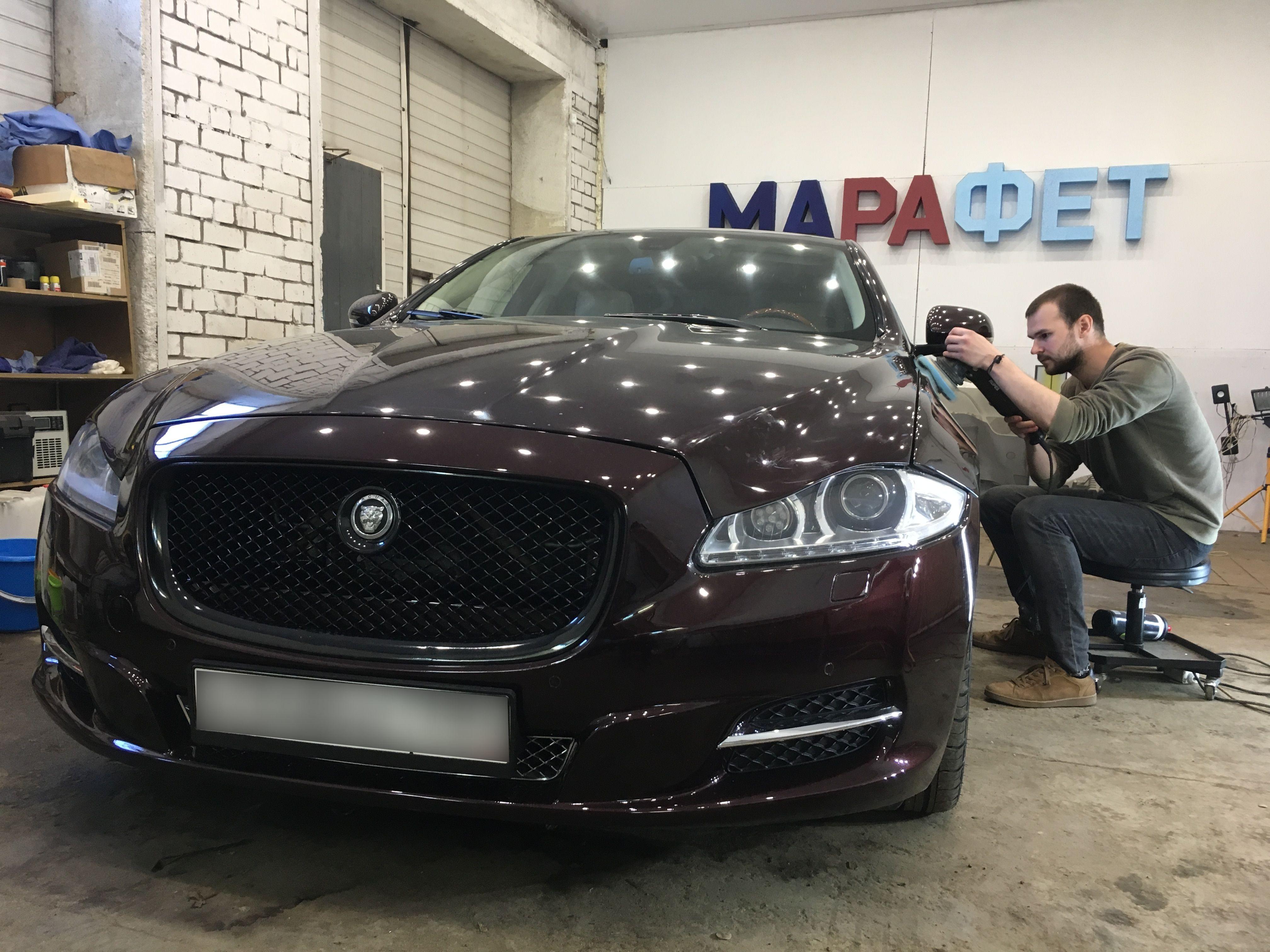 Детейлинг Jaguar XJ