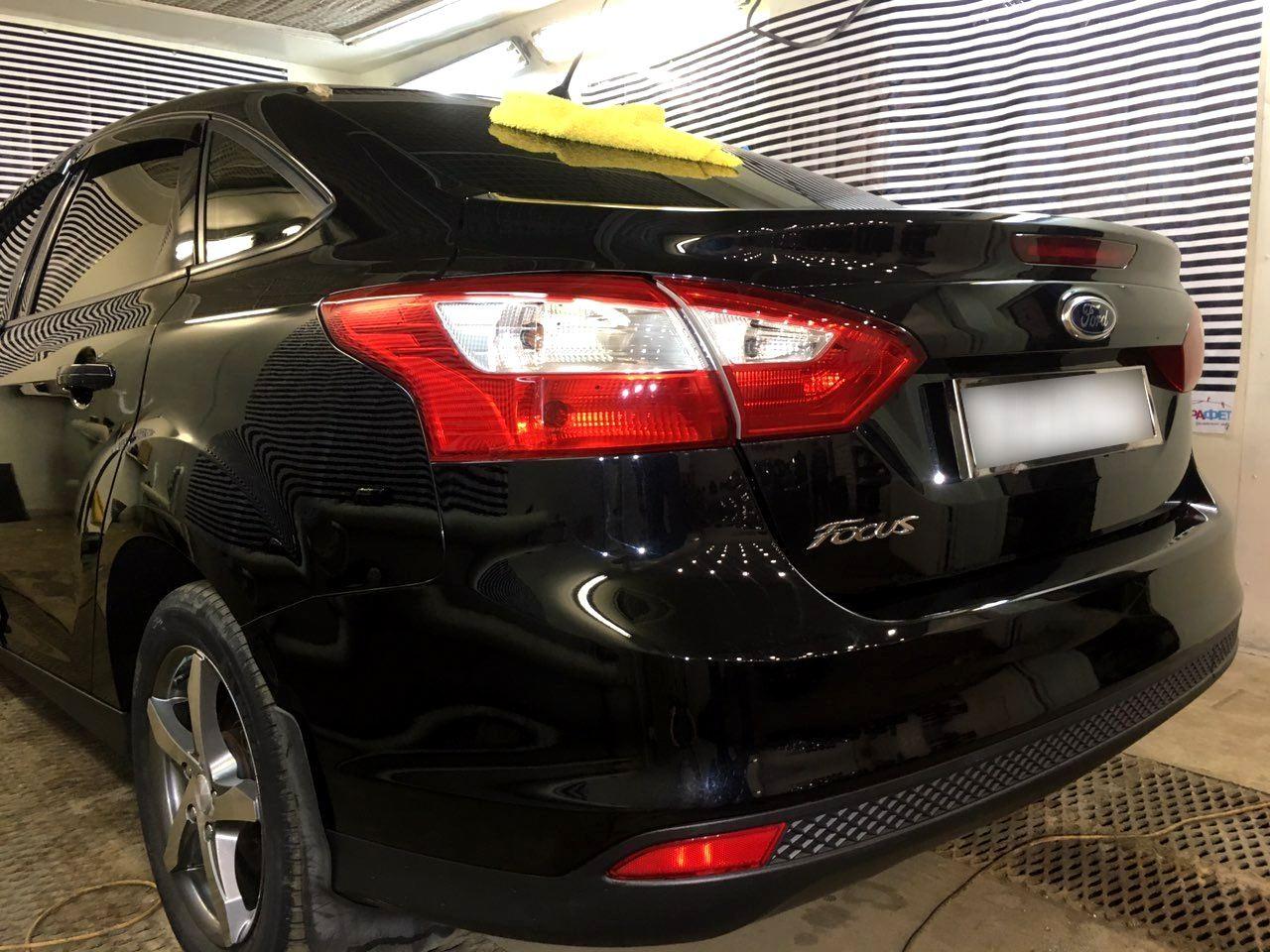 Детейлинг кузова Ford Focus и восстановление оптики