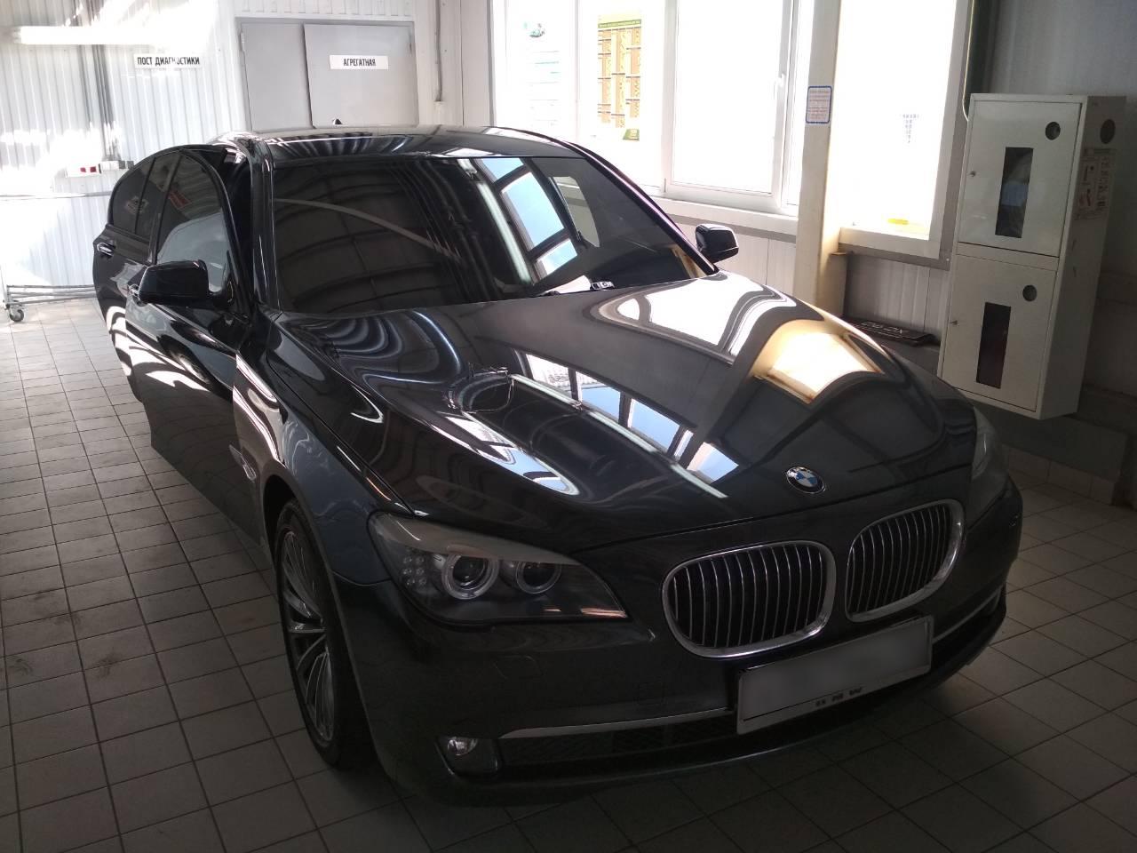 Детейлинг BMW 7