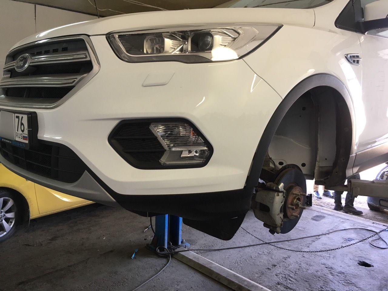 Антикоррозийная обработка Ford Kuga