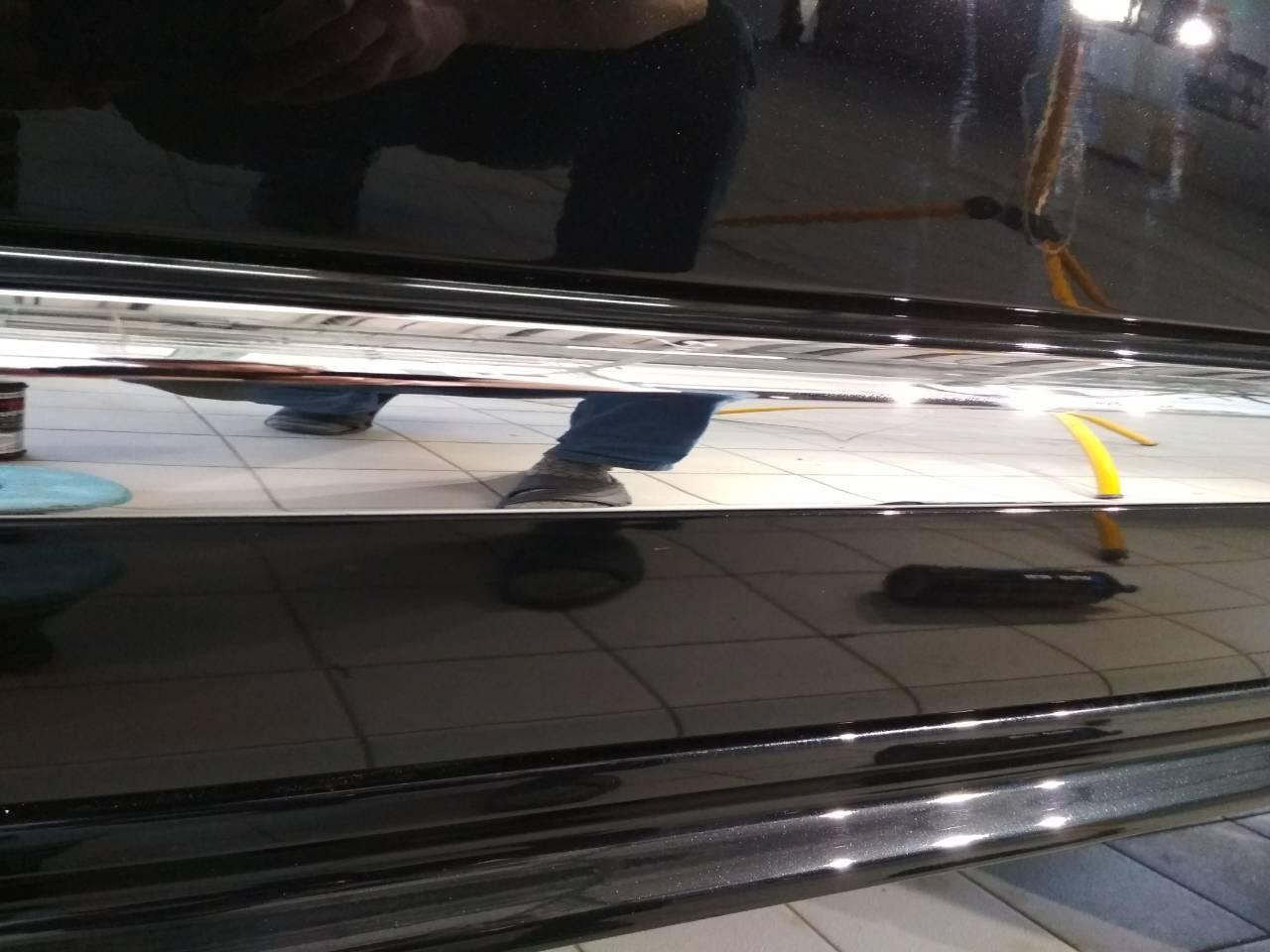 Очистка хрома и полировка VOLVO XC 90