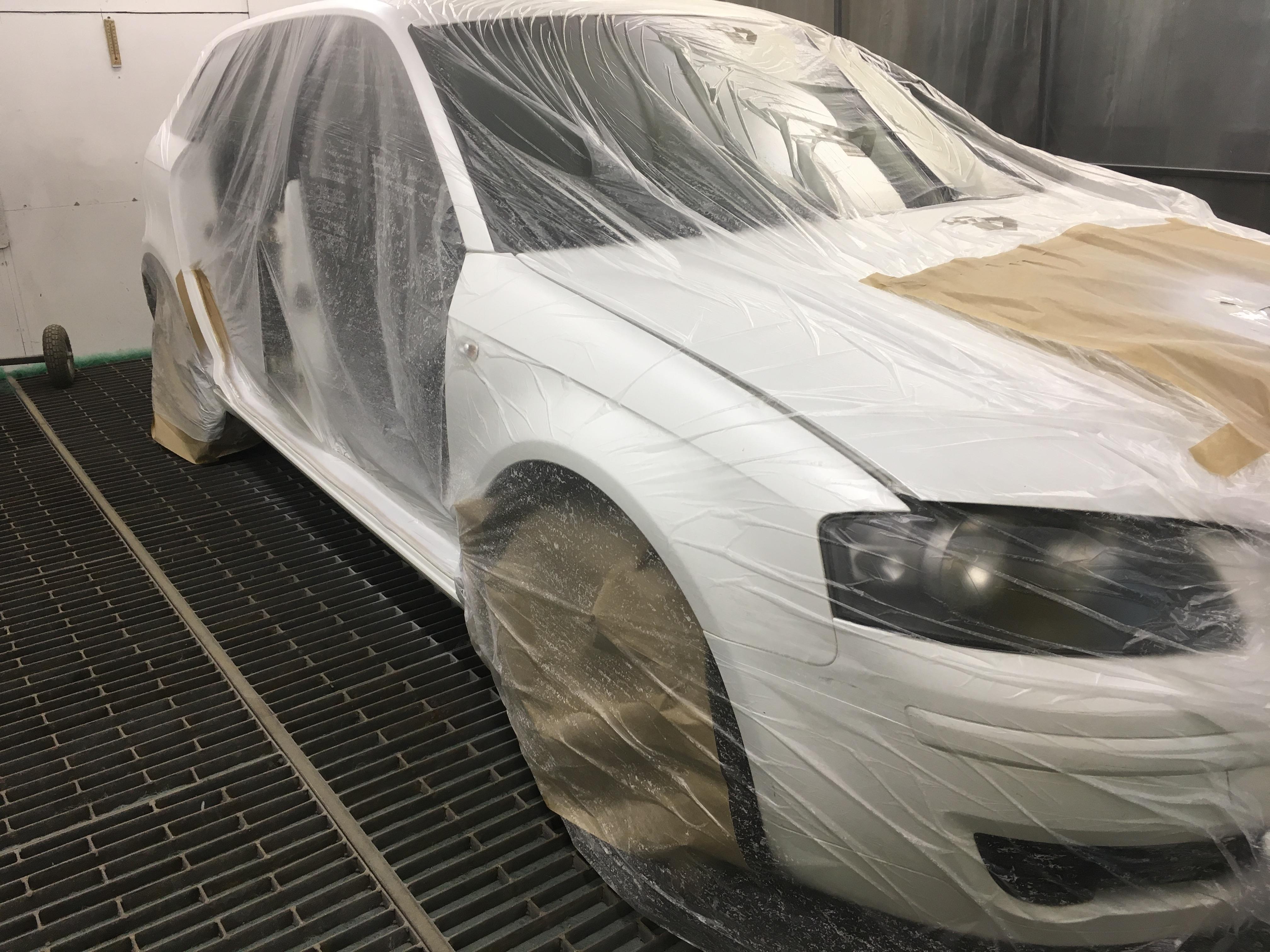 Покраска и полировка Audi A3