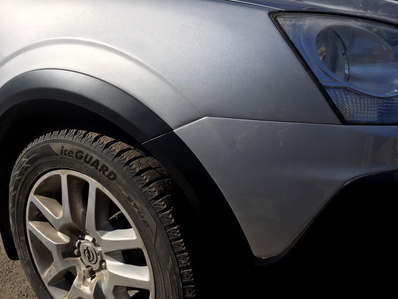 Покраска Opel Antara