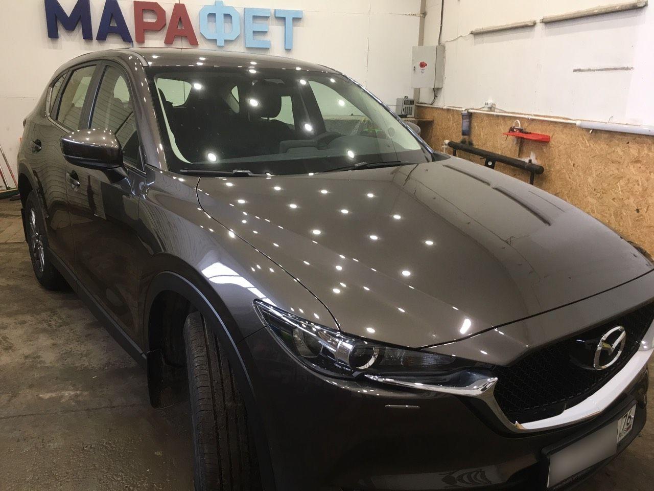 Полировка и защитное покрытие кузова Mazda CX-5