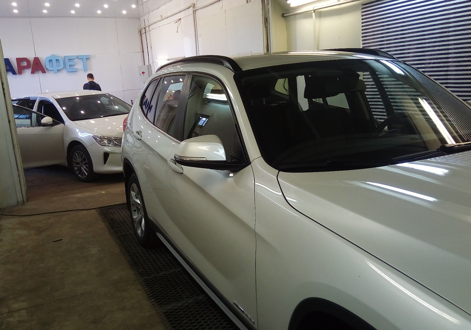 Детейлинг белых авто