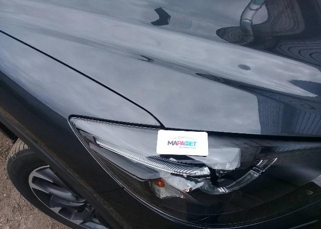 Покраска капота на Mazda CX-5 под заводскую толщину ЛКП