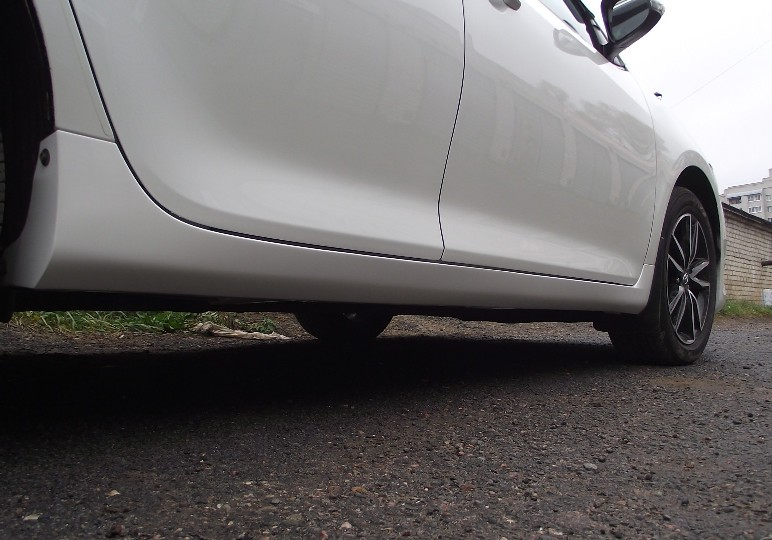 Локальная покраска Toyota Camry