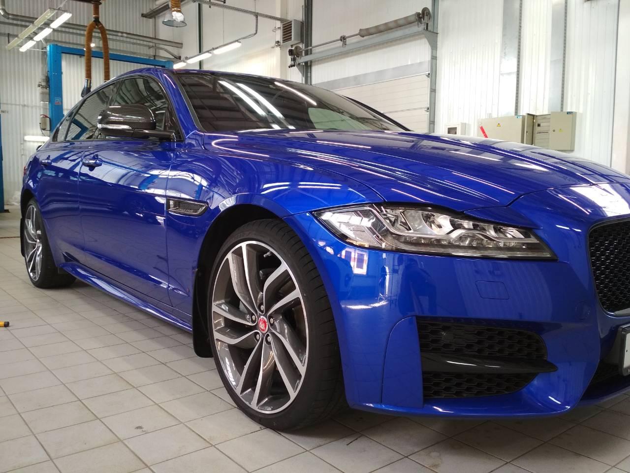 Восстановление ЛКП на Jaguar